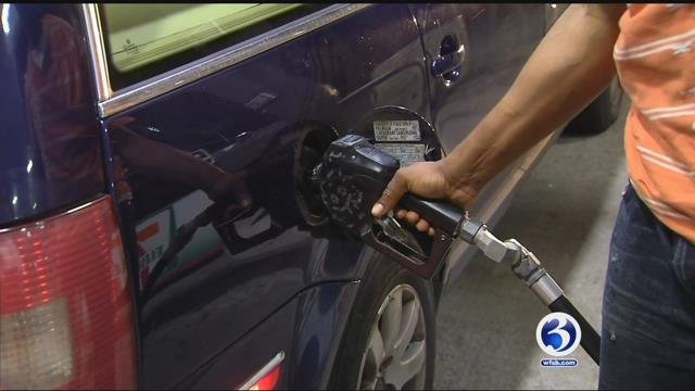 Harvey causes gas prices to increase overnight. (WFSB file photo)