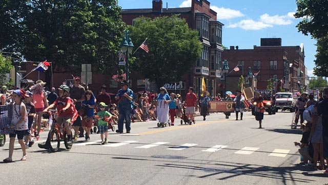 This year's Boombox Parade stepped off on Tuesday morning. (WFSB)