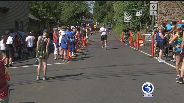 Dozens participate in annual Chester Road Race. (WFSB)