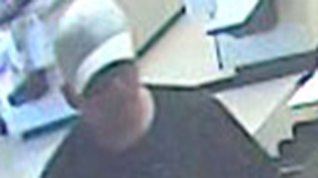 Police are looking for this man in connection with a bank robbery. (Newington Police Department)