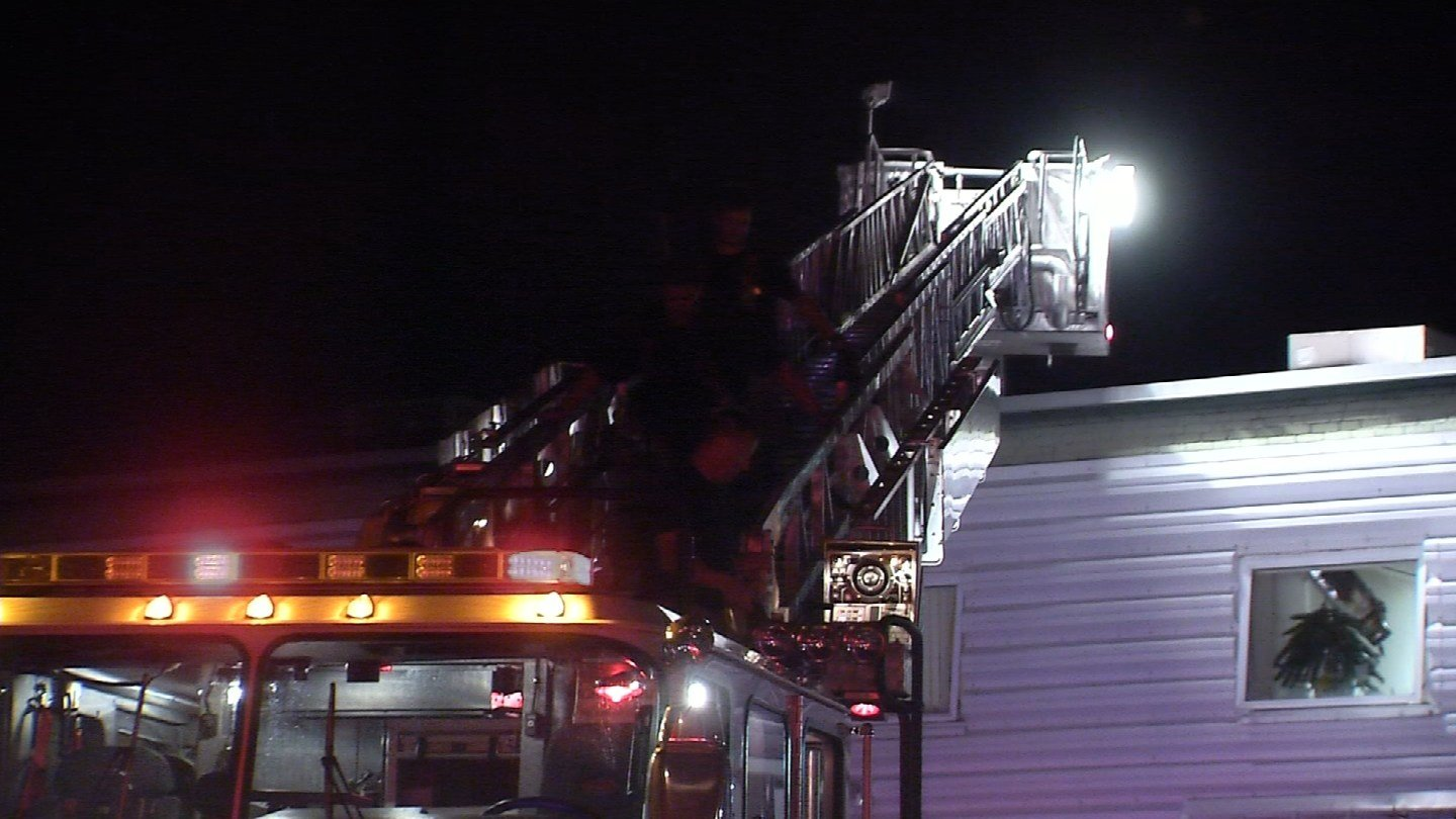 A fire at the Hartford Dispensary in New Britain is under investigation. (WFSB)