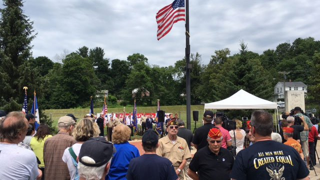 A memorial service was held on Thursday afternoon to honor the life of a Connecticut sailor who died back in June.(WFSB)