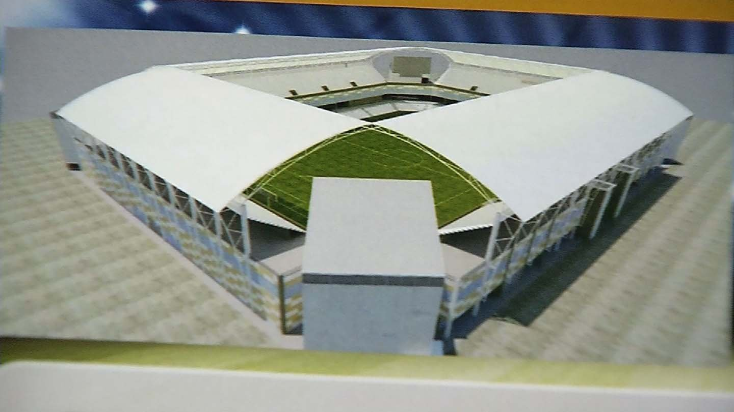 A rendering of the new Dillon Stadium in Hartford. (WFSB photo)