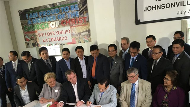 Iglesia Ni Cristo buys Connecticut ghost town. (WFSB)