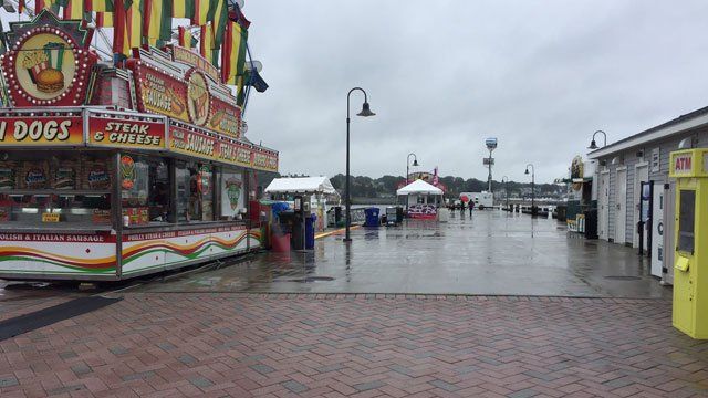The 40th annual Sailfest got off to a soggy start on Friday in New London. (WFSB)