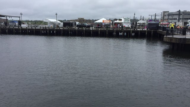 The official noon opening for Sailfest was pushed back to around 5 p.m. (WFSB)