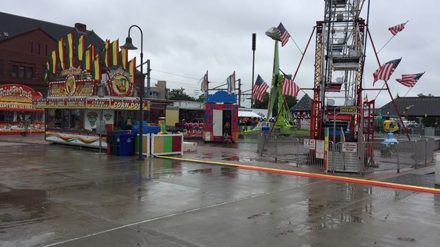 There's more than 200 vendors, food stands and rides at the annual Sailfest. (WFSB)