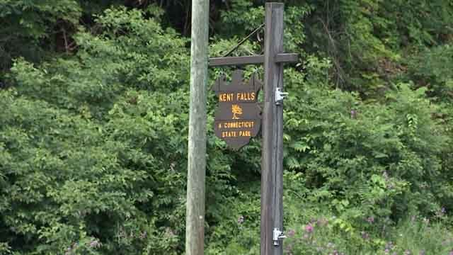 Kent Falls State Park has since reopened (WFSB)