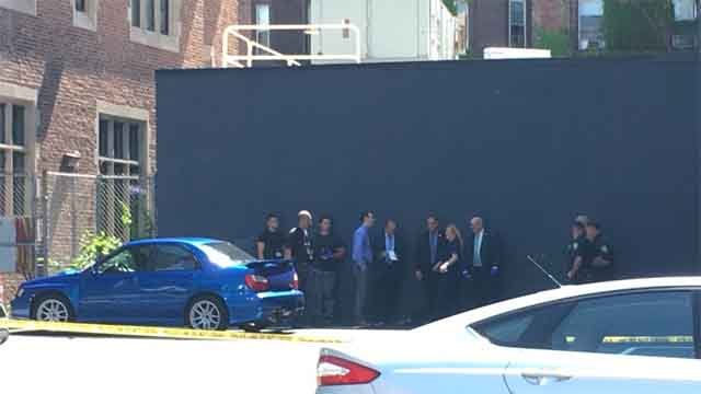 A body was found inside a car that was parked in a Yale parking lot. (WFSB)