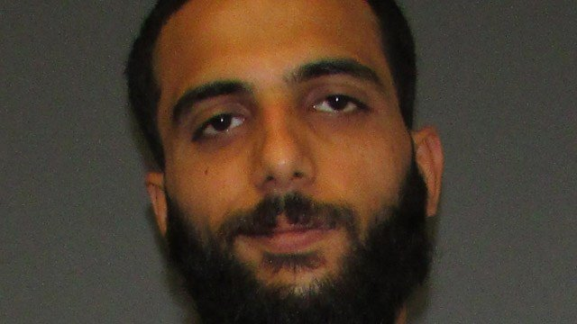 Leith Abuzaydeh was arrested for assaulting officers who confronted him about urinating on a vehicle outside of a Glastonbury restaurant. (Glastonbury police)