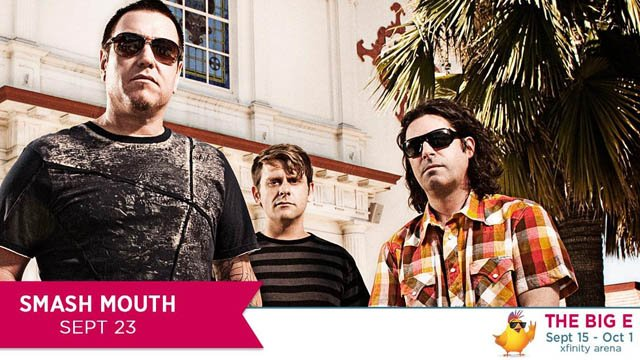 Smash Mouth is scheduled to perform on Sept. 23 at the Big E. (@TheBigEFair photo)