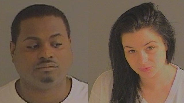 David Matthews and Cynthia Wydra are two of three people arrested on drug charges in Norwich. (State police)