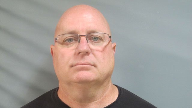 Michael Hudd, who was a firefighter from the Guilford Fire Department, was charged with workers compensation fraud after authorities said he was seen setting drum equipment and playing in a local band. (Department of Criminal Justice)