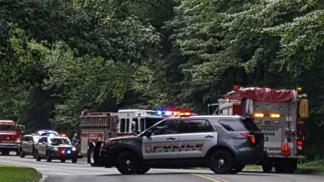 Police are investigating the cause of a crash that resulted in the death of the driver. (WFSB)