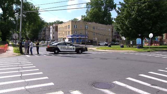 Hartford police have made two arrests in a homicide investigation. (WFSB)