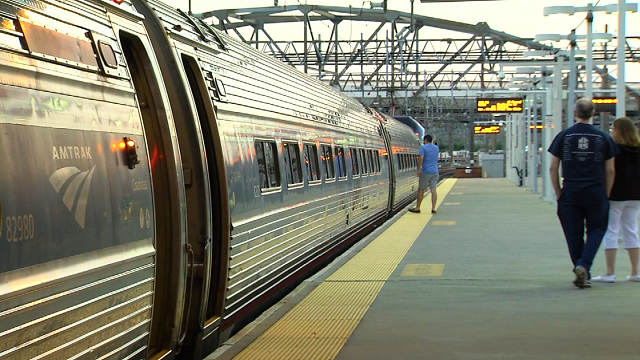 Commuters in New Haven aren't sitting well with Amtrak's latest consideration to put more seats on trains. (WFSB)