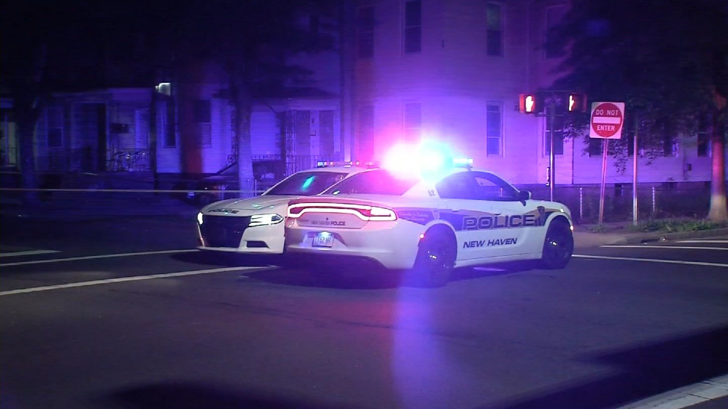 A 14-year-old boy was critically injured in a shooting on Bassett Street in New Haven on Sunday. (WFSB)