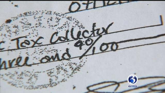 CT tax collector admits he altered woman's check
