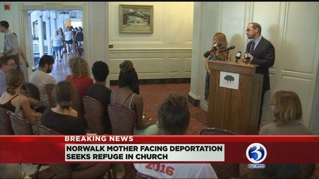 CT mother set for deportation now seeking refuge