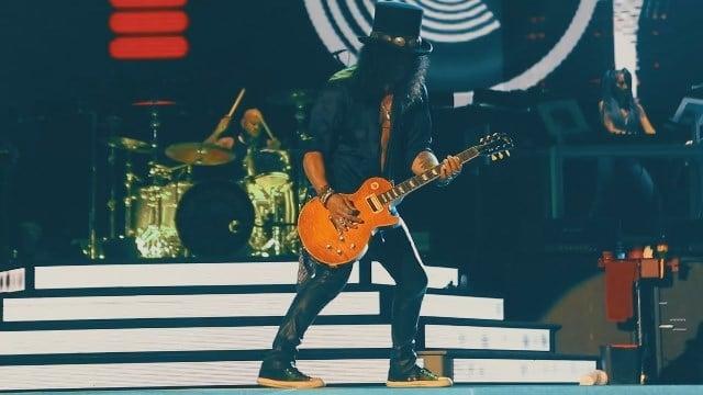 Guns N' Roses brings their Not In This Lifetime Tour to Connecticut. (Guns N' Roses)