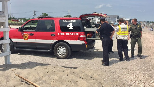 Authorities have identified the man who went missing off Silver Sands State Park in Milford. (WFSB)
