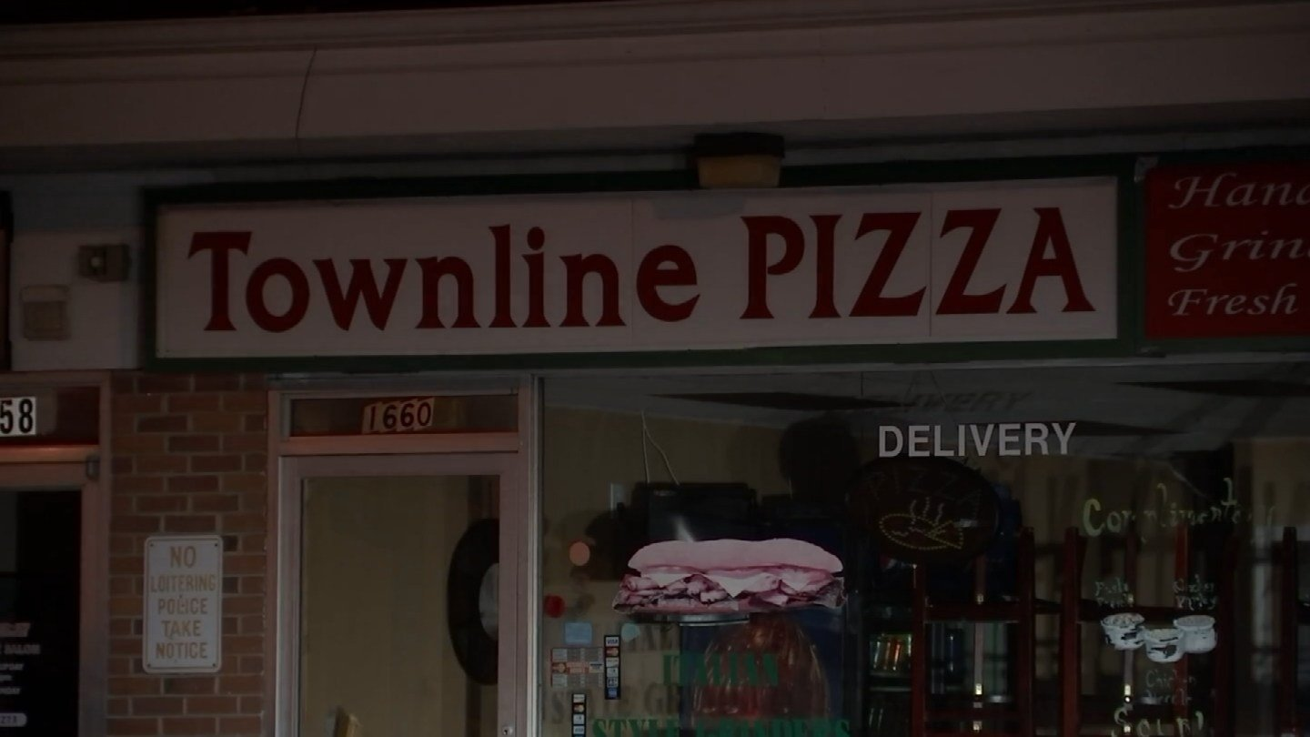 Town Line Pizza in Southington was damaged by an overnight fire, according to firefighters. (WFSB)