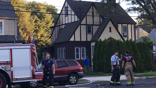 Firefighters responded to a fire on Bradley Avenue in Meriden early Wednesday morning. (WFSB)