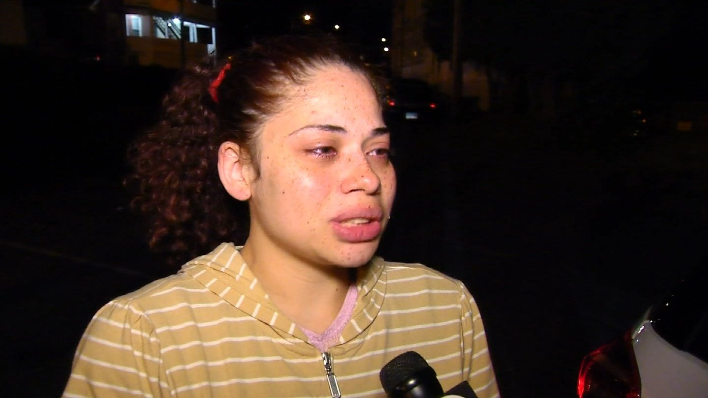 Ashley Correa-Graham spoke to Eyewitness News on Tuesday night after she turned her 10-day-old daughter over the the Dept. of Children and Families. (WFSB)