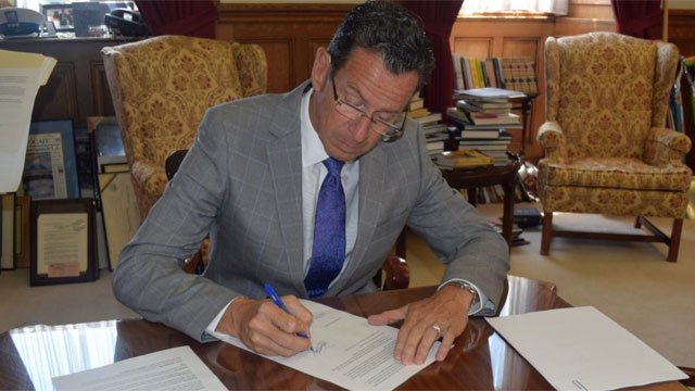 Gov. Dannel Malloy signed an executive order reinforcing nondiscrimination policies in Connecticut Military Department. (Office of Governor Dannel P. Malloy Facebook)