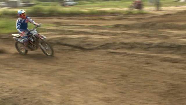 Next month, Bill D'Occhio will load up his motocross bike and head out to Los Angeles. (WFSB)