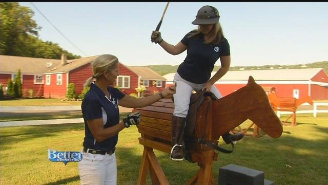 Kara gears up for polo!