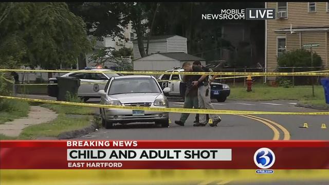 Child, teen injured in East Hartford shooting