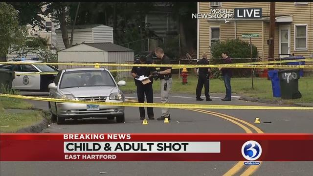 East Hartford shooting leaves child, teen injured
