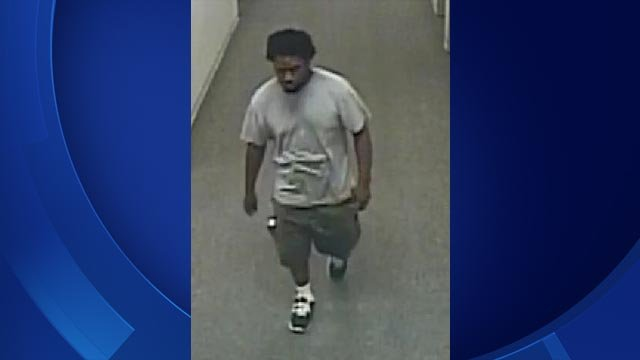 Bridgeport police are looking for this man accused of stealing from Housatonic Community College (Bridgeport PD)