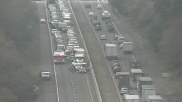 I-95 north in East Lyme is closed (CT DOT)
