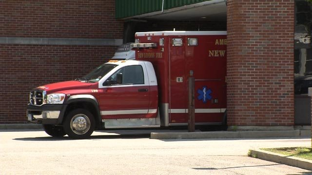 New London fire crews were called to several reported overdoses on Friday (WFSB)