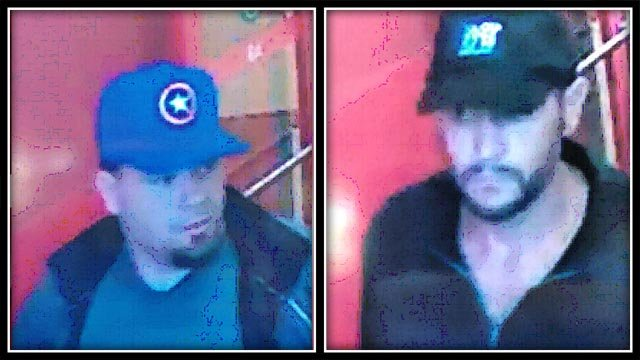Police are looking to identify these two men (Waterford PD)