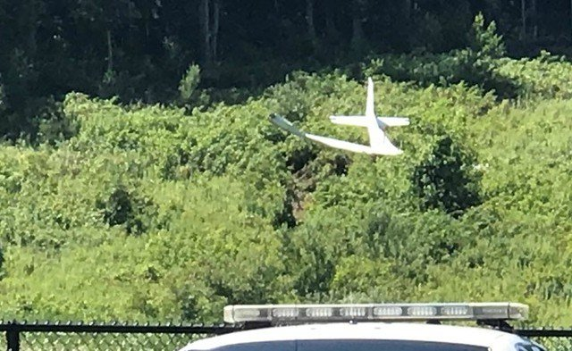 Plane Taking Off At Danbury Airport Crashes