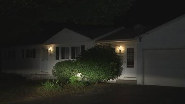 A family rescued a man from house fire in South Windsor on Sunday night. (WFSB)