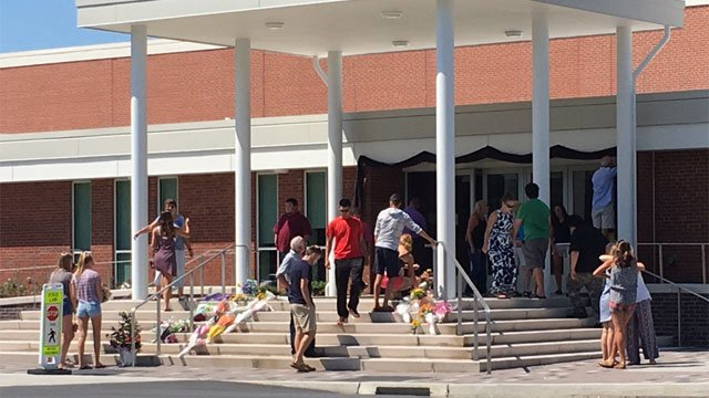 School officials released information concerning the passing of the East Hampton High School principal, John Fidler.  (WFSB)