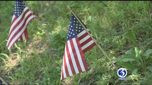 Some residents who fly American Flags say they are targets of hate mail (WFSB)