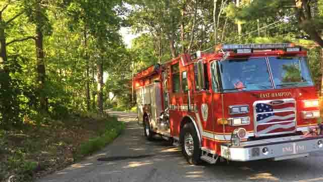 Part of Bear Swamp Road was closed for the crash (WFSB)