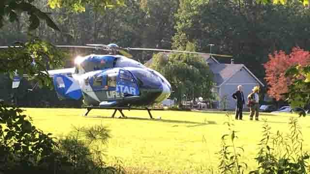 LIFE STAR was called to the scene (WFSB)