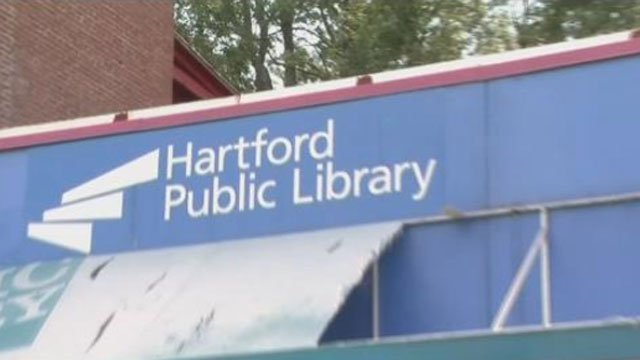 Three Hartford Public Library branches will close due to budget concerns. (WFSB)