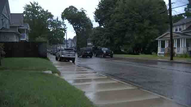 A standoff was reported in Willimantic on Wednesday evening (WFSB)