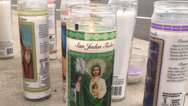 A memorial is continuning to grow after a deadly crash in Waterbury on Wednesday. (WFSB)