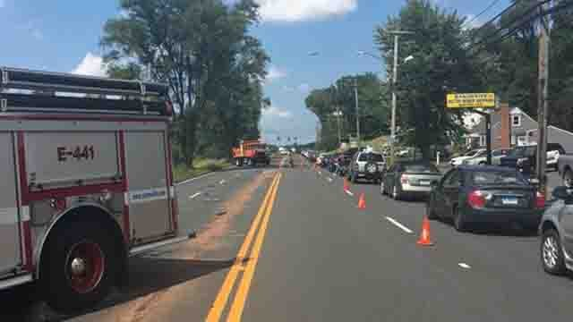 A serious crash was reported on Route 83 in Vernon (Vernon Police)