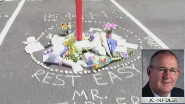A community will remember East Hampton Principal John Fidler. (WFSB)