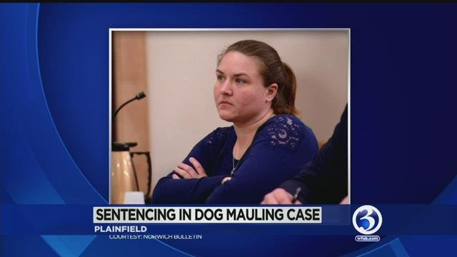 Jenna Allen is being sentenced on Friday in a brutal dog attack case. (WFSB)