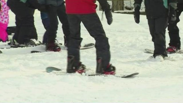 Powder Ridge's 365 Synthetic Snow Park opens in September. (WFSB file photo)